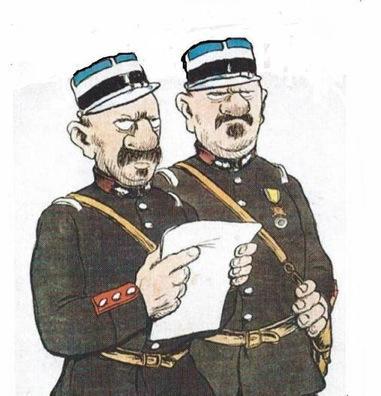 Deux gendarmes