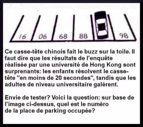 Place de parking