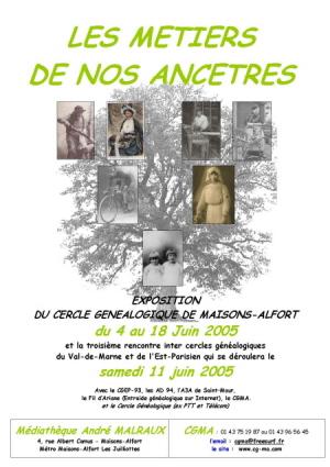 Affiche de l'exposition 2005