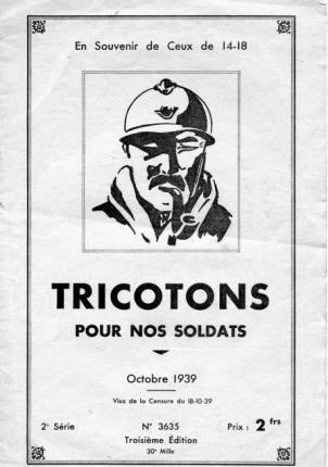 En souvenir de Ceux de 14-18 - Septembre 1939