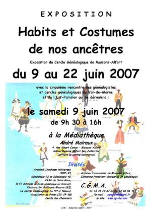 Affiche de l'exposition 2007