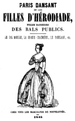 Blog Paris dansant - 1845