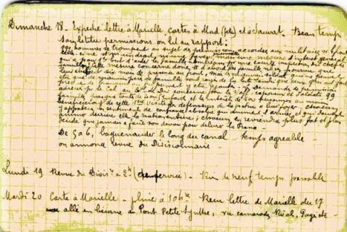 Carnet de François Beissac