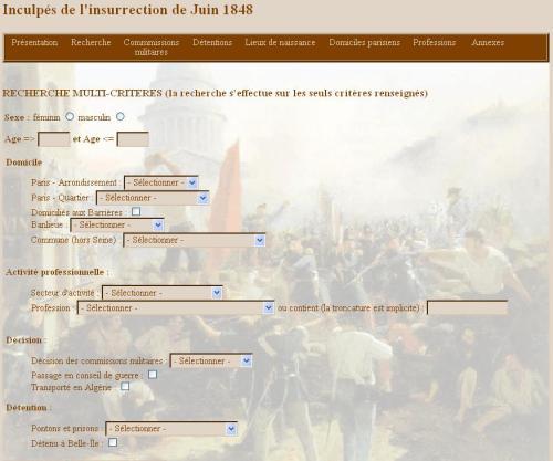 Inculpés de juin 1848