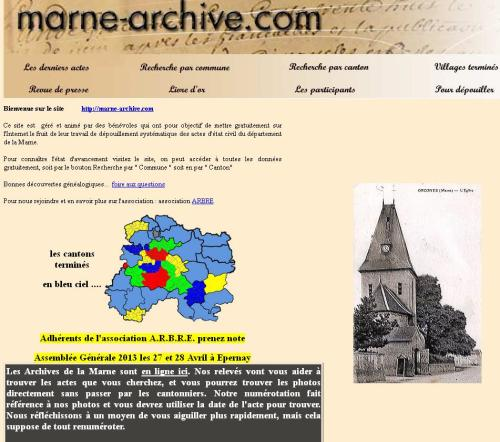 Marne Archive