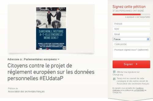 Signez cette pétition