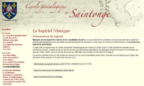 Saintonge - Nimègue