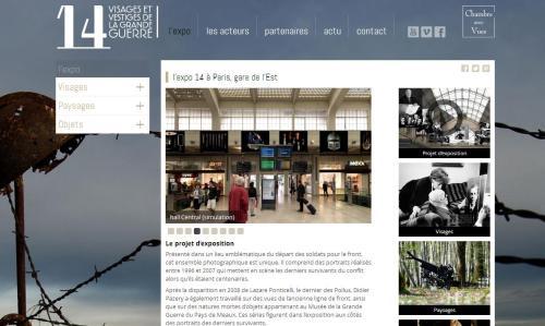 Expo 14 à Paris gare de l'Est