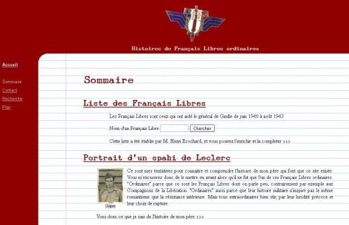 Histoire des Français libres ordinaires