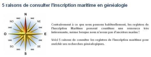 Inscription Maritime