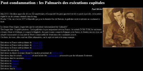 Exécutions capitales
