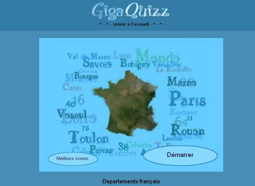 Quiz des départements