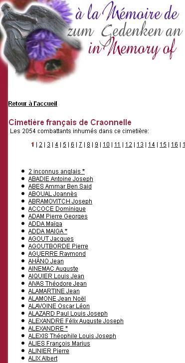 Cimetière de Craonnelle