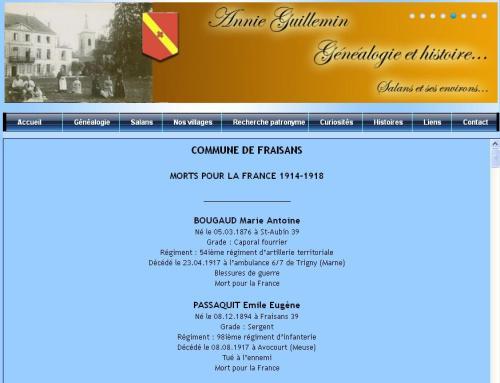 Commune de Fraisans