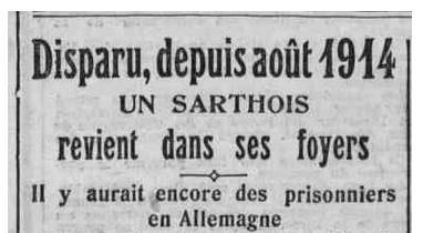 Disparu en 1914
