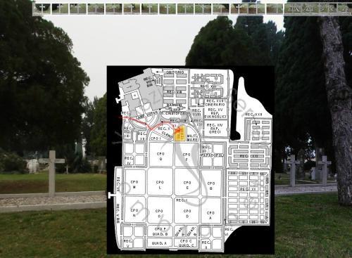 Les 17 tombes de San Michele de Venise (1916)
