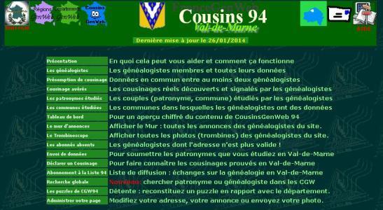 Cousins GenWeb 94