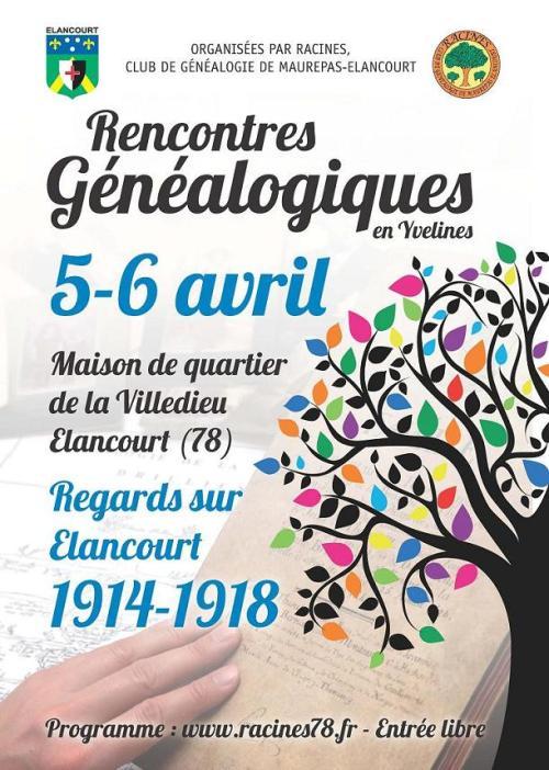 Affiche-A3-Généalogie-VersionElancourt