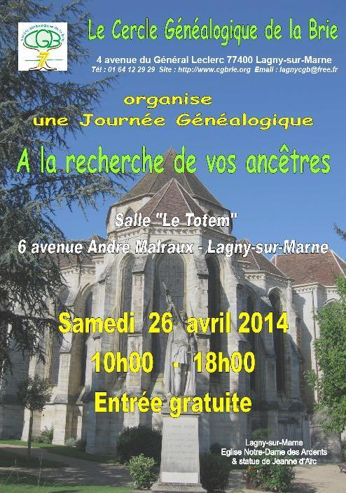 CGBRIE - 26 avril 2014