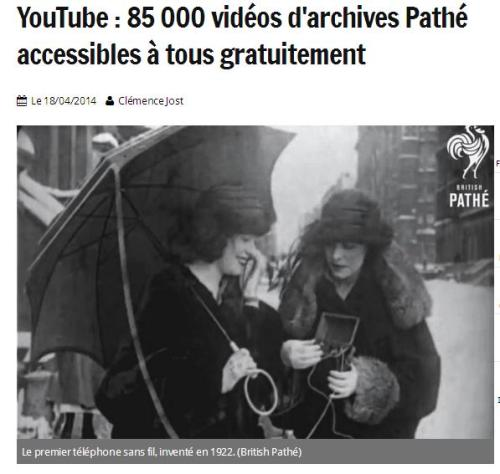 Archives Pathé