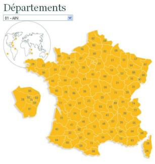 Départements archives