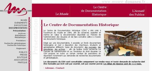 Musée Douanes