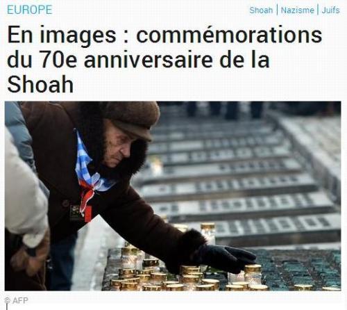 Shoah 70 ans