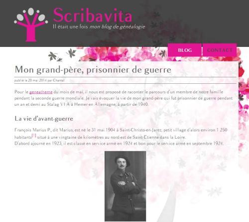 Blog SCribavita