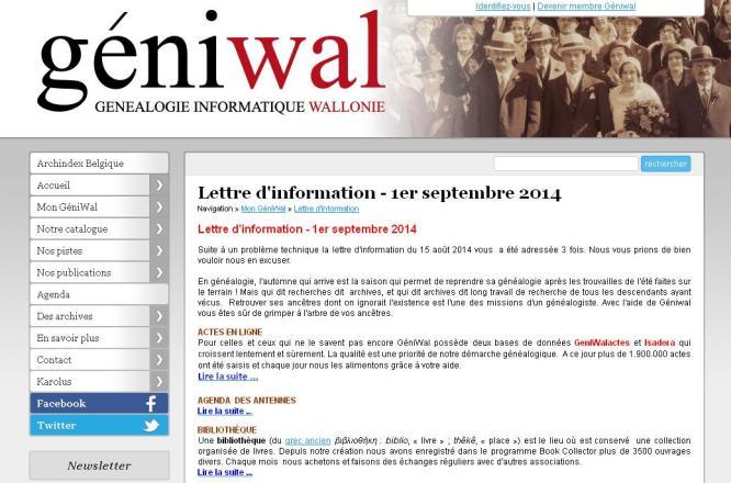 Géniwal sept 2014