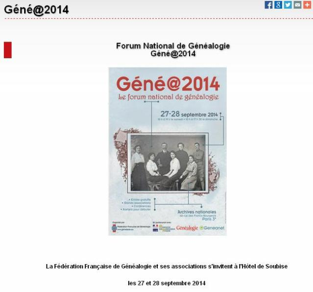 Genea2014