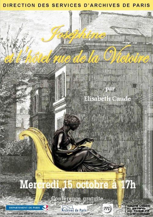 AD 75 Joséphine le 15 octobre