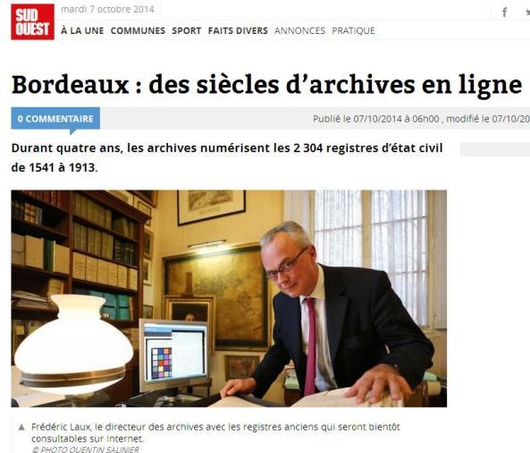 Bordeaux en ligne
