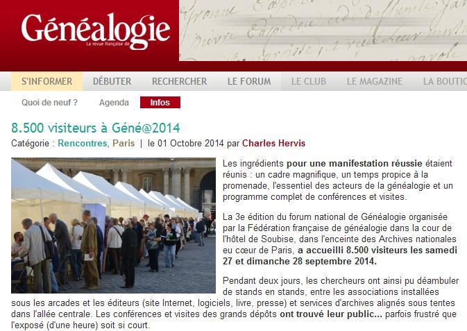 Généa2014 RFG