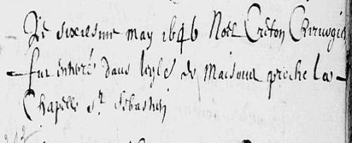1646 Noël Creton
