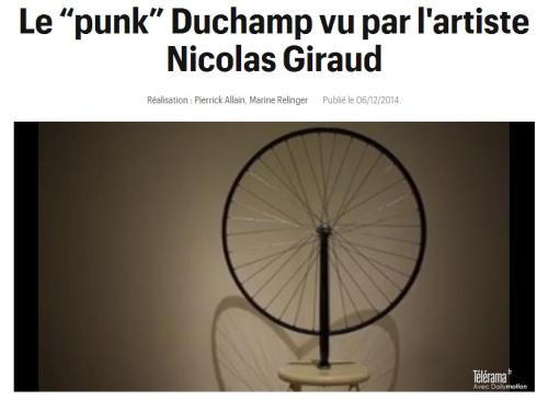 Duchamp vu par Giraud