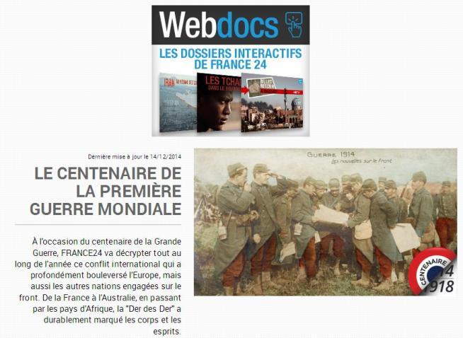 France 24 Centenaire