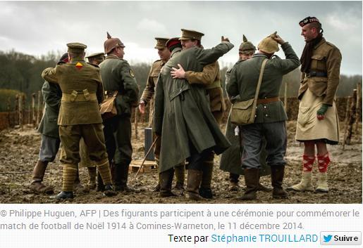 La trêve noël 1914