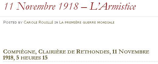 11 novembre 1918