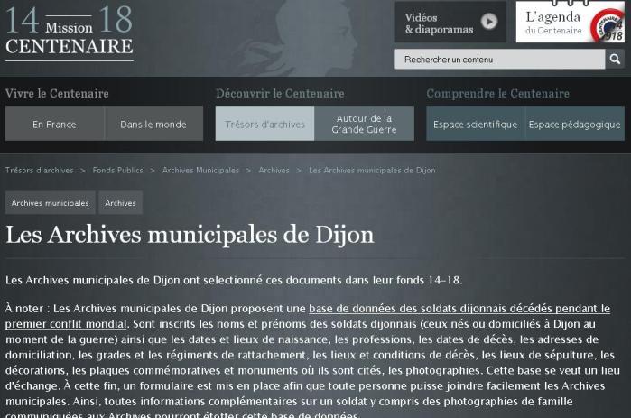 AM Dijon - Centenaire