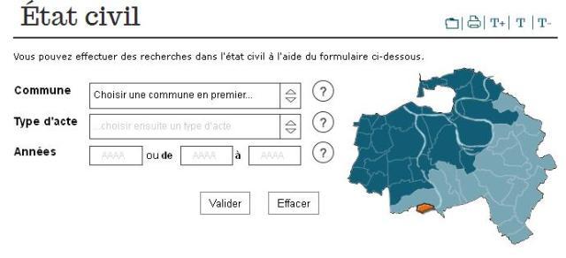 AD 94 - Etat civil