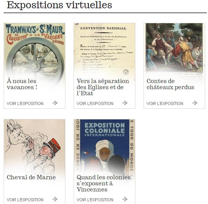 AD 94 Expositions virtuelles