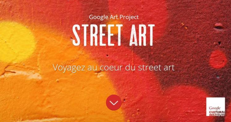 Street art Google