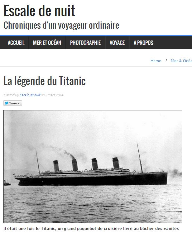 Titanic la légende