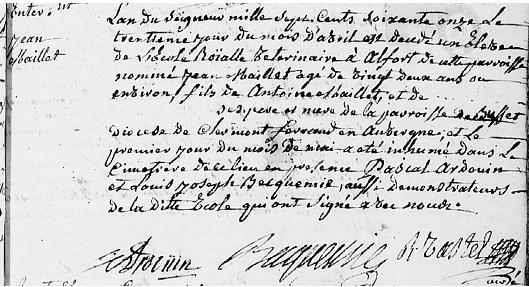 1771 Jean Maillet