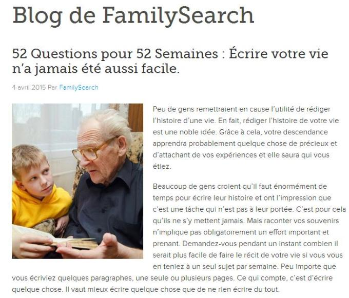 52 questions 52 semaines