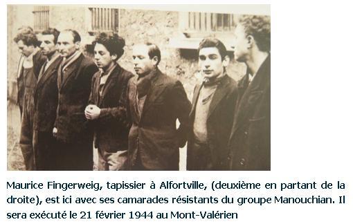 Fingerweig Maurice Tapissier à Alfortville