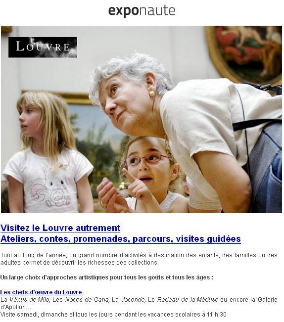 Visitez le Louvre