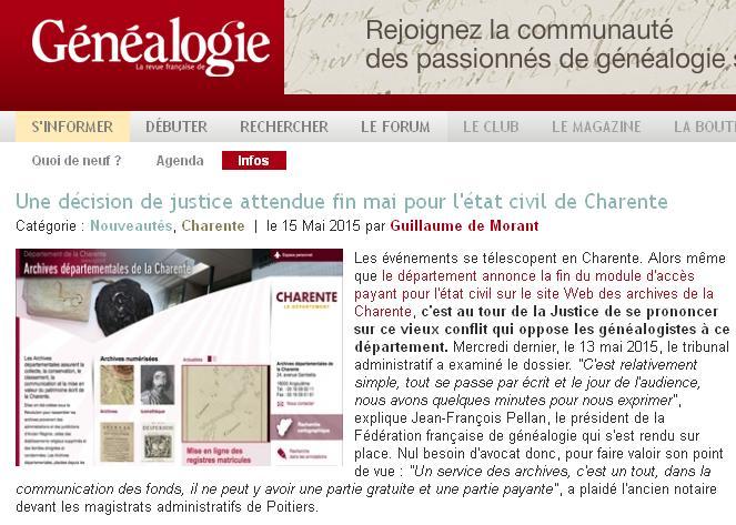 Justice en Charente