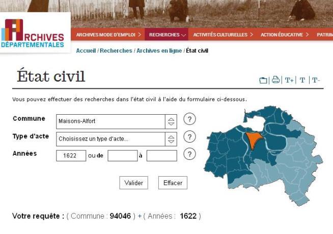 Etat -civil Maisons