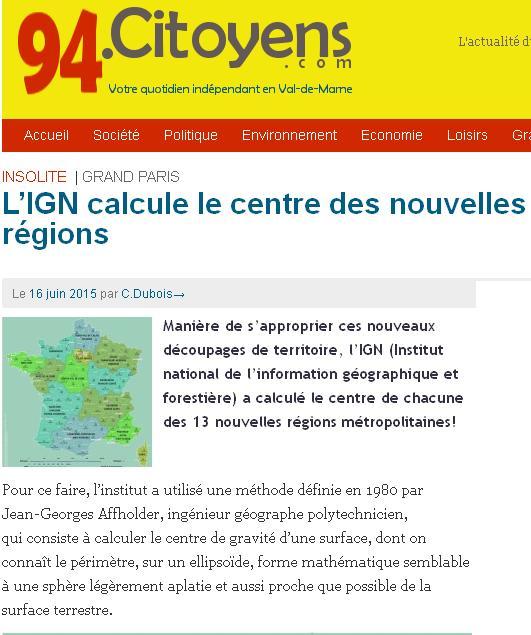 Le centre des régions
